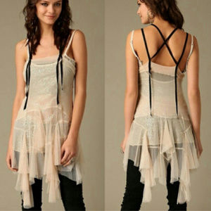 🌟RARE ⭐Free People ballerina fairy slip dress